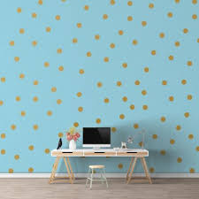 giant polka dot wall decals pattern