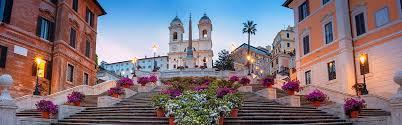 Die spanische treppe in rom ist eine der bekanntesten freitreppen der welt. Die Spanische Treppe In Rom Piazza Di Spagna