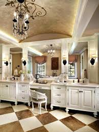 Bathroom Vanities With Makeup Table Bath Vanities With Dressing ...