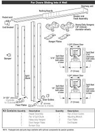 Sliding Door Hardware | 9631 | Hager