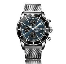 mens breitling watches the watch gallery breitling superocean heritage automatic stainless steel multi coloured dial mens watch a1332024 c817 152a