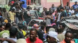 In Haiti chaos, world powers struggle ...