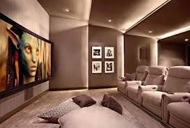 home theatre room lighting theater professional theater room wall lighting
