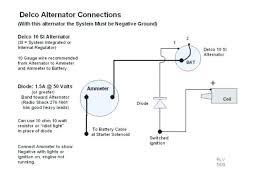 simple 1 wire alternator wiring diagram wiring diagram libraries 1 wire alternator wiring diagram for ammeter wiring diagram originammeter wiring 3 wire alternator to chevy