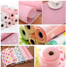 Contact polka dots cakes academy on messenger. Amazon Com Ihappy Non Adhesive White Polka Dots Shelf Paper Drawer Liner 3m Pink