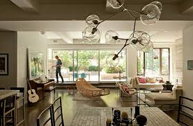 view in gallery unusual shaped globe branching bubble chandelier
