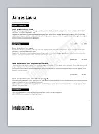 Resume 50 Inspirational Resume Templates Free Download High