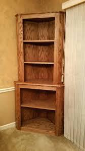 Unfinished Corner Shelves Compact Unfinished Corner Shelves Wood Beautiful Corner Bookcase 13