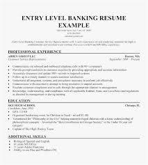 Bank Customer Service Representative Resume Sample New Template