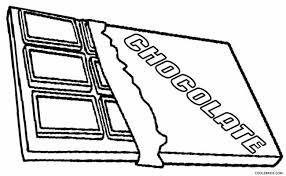 Small Picture Chocolate Candy Bar Coloring Page Other Sweet Images Of Candy