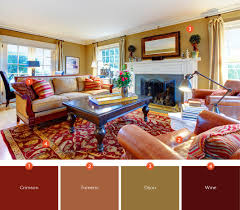 color scheme living room. Wonderful Room If You Want To Create A Warm And Comfortable Living Room Your Color Scheme  Will Make Big Difference Blend Deep Tones Of Red Brown  On Color Scheme Living Room N