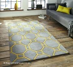 grey and yellow rug ikea yellow and white rugs rug a modern grey hand tufted
