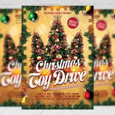Food Drive Flyers Templates Toy Drive Free Seasonal A5 Flyer Template Exclsiveflyer