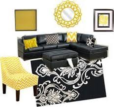 bedroom decor with black furniture. black grey and yellow with leather couch google search more bedroom decor furniture