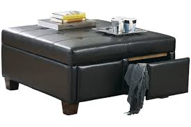 ashley furniture storage ottoman. Unique Ottoman Ashley Furniture Showroom  Series Name Durahide Bicast  Brown Item  Ottoman With Storage Model  Intended Furniture R