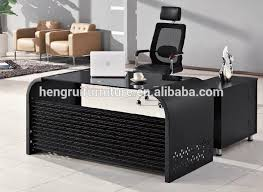 latest office table. Latest Office Table Design \u0026 Executive Counter With Glass Top And W