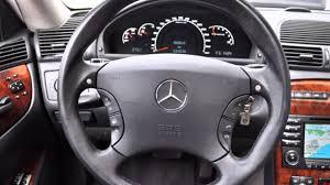 Mercedes CL55 AMG V8 kompressor 2003 model - YouTube