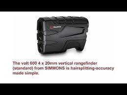 simmons volt 600 tilt. simmons 801600 volt 600 laser rangefinder features and reviews tilt 0