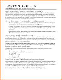 Scholarship Essay Examples Financial Need Financial Aid Appeal Letter Sample Best Financial Need Scholarship