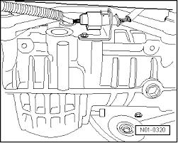 volkswagen workshop manuals > golf mk4 > power transmission > 5 n01 0320