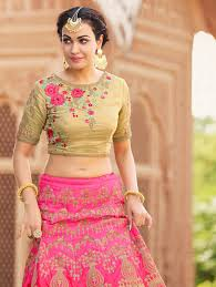 Choli Blouse Design Latest Latest Lehenga Blouse Design And Pattern In Trend