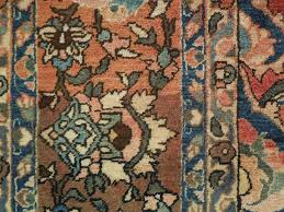 color variation in authentic oriental rug