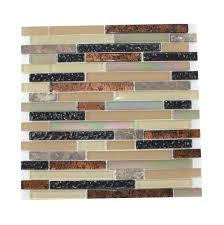 Kitchen Backsplashes Home Depot Glass Mosaic Tile Backsplash Ideas Home Design Ideas