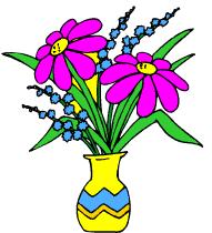 """Résultat de recherche d'images pour """"offrir des fleurs dessin"""""""