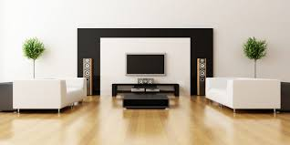 Interior Design For Living Room Wall Unit Living Room Couple Identical Indoor Plants Decor Feat White