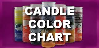 Astral Candle Color Charts Candles