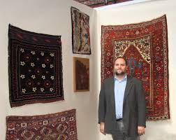 oriental rugs textiles at arts east show in boston
