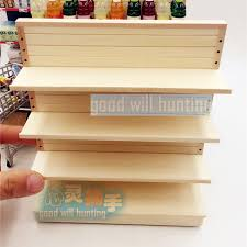 miniature doll furniture. 112 miniature dollhouse wooden supermarket rack for food and drinks display doll house furniture