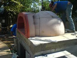 Pizza Oven Outdoor Kitchen Outdoor Kitchen With Pizza Oven And Travertine Pool Ask The