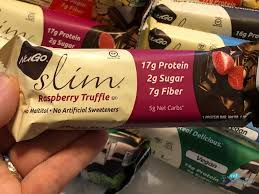 nugo slim low sugar protein bars are our go to protein bars ad