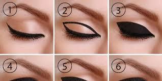 pin drawn eyelash cat eye 9