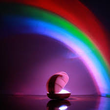 Rainbow Projector Light Led Rainbow Night Light Timer Light Colorful Rainbow