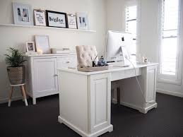 home office organisation. Home Office Reveal | KIrsten And Co\u0027s Featuring LIATORP Desk From IKEA Organisation E