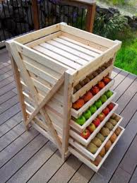 diy storage furniture. Convenient Fruit Storage (via Shelterness) Diy Furniture N