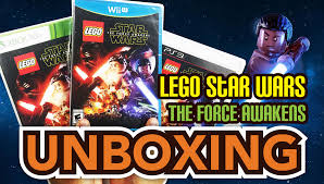 lego star wars the force awakens ps3 xbox 360 wii u unboxing you