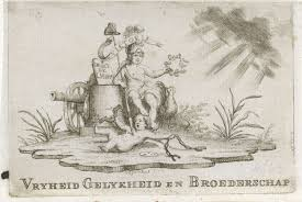 Johannes Jelgerhuis Patriots Vignet 1795 Johannes Jelgerhuis