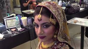 indian stani bridal makeup by aisha aisha s salon spa houston tx you