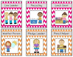 Free Preschool Classroom Job Chart Pictures Jobs Jess Pdf Classroom Job Chart Preschool Jobs