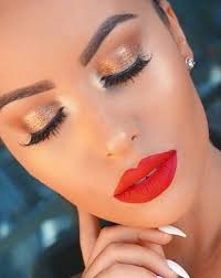 red lipstick red lips red lip cat eye makeup wine lipstick burgundy lipstick red pout red lipstick makeup look