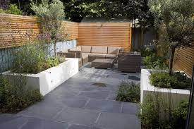 Small Picture Small Contemporary designed garden in Putney with rendered raised