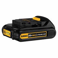 dewalt 20v battery charger. dewalt dcb201 20v max li-ion compact battery pack (1.5 ah) dewalt 20v charger