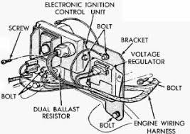 dave s place dodge electronic ignition ballast resistor