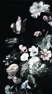 Real Dark Floral iPhone Wallpapers ...