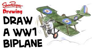 Image result for how to draw world war one planes