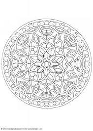 Kleurplaat Mandala 1602c Gerepind Door Wwwgezinspiratienl