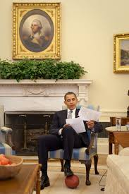 obamas oval office. Obama In The Oval Office With A Football By Pete Souza Obamas Y